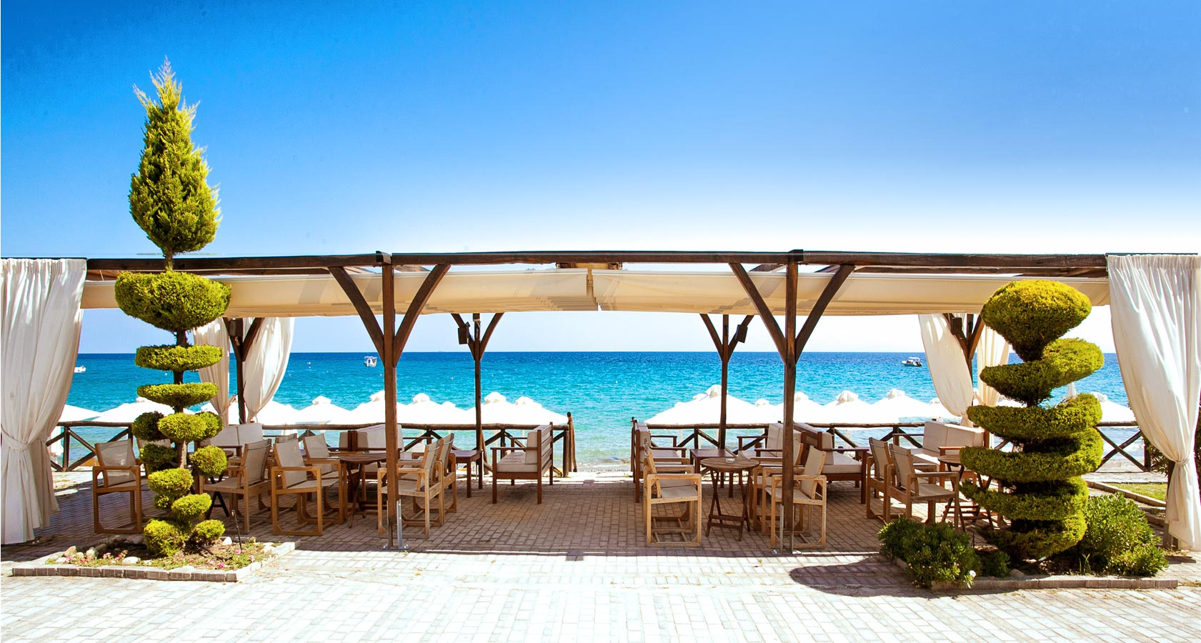 Hotel Paralio in Possidi Halkidiki Greece