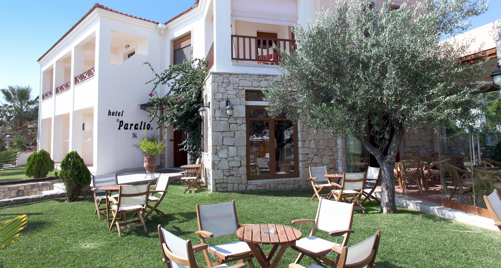 General Overview of Paralio Hotel in Possidi Halkidiki Greece