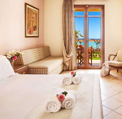 Spacious Hotel Rooms in Possidi Halkidiki